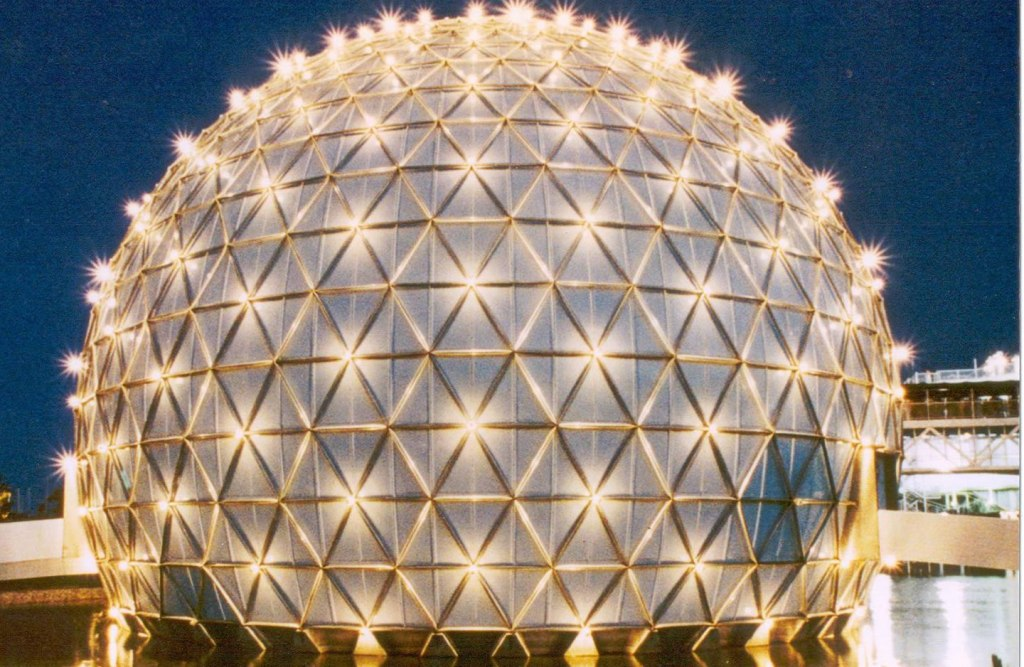 Cinesphere dome at Ontario Place