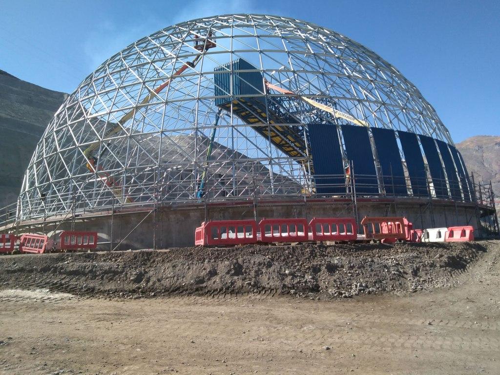 El Teniente Copper Mine Dome - click for project details