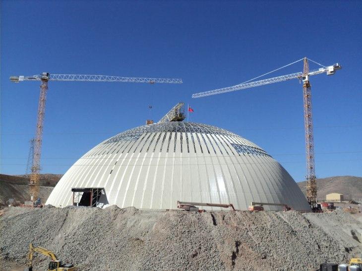 Carmen de Andacollo Copper Mine Dome - click for details