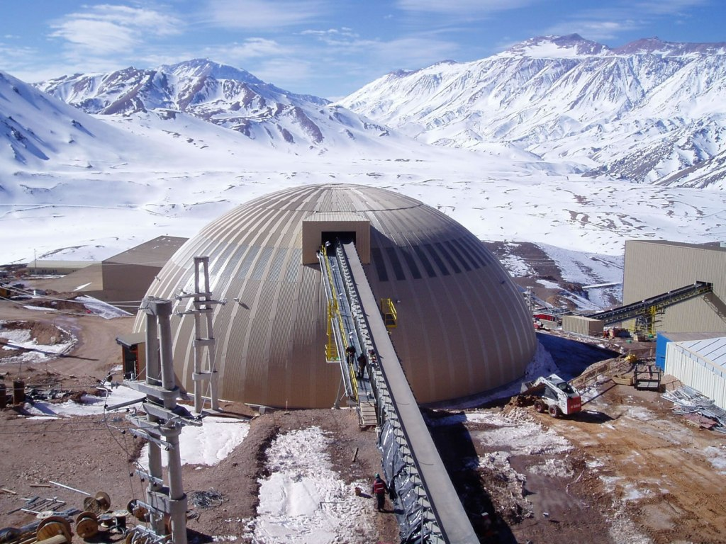 Veladero Gold Mine Dome - click for details