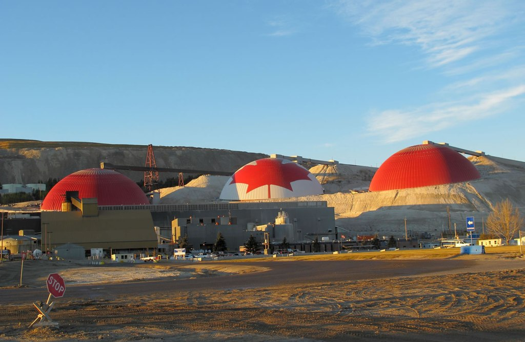 Highland Valley Copper Mine Domes - click for details