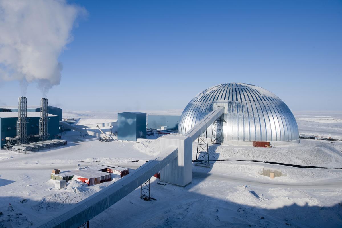 Meadowbank Gold Mine Dome – Kivalliq Nunavut, Canada
