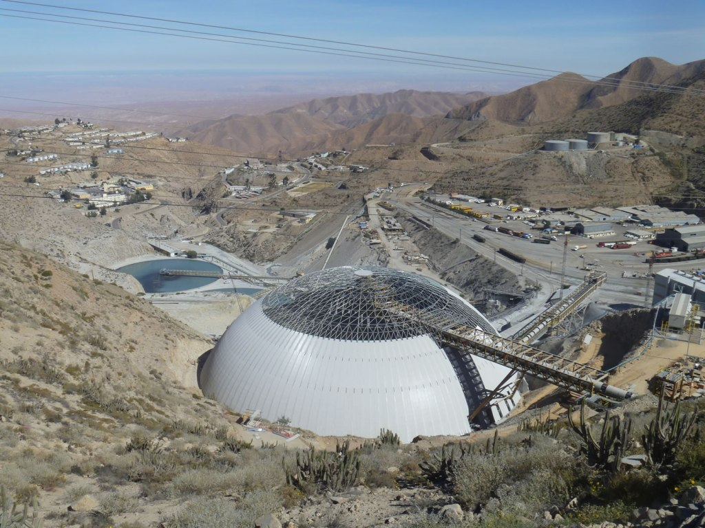 Toquepala Copper Mine Domes - click for project details