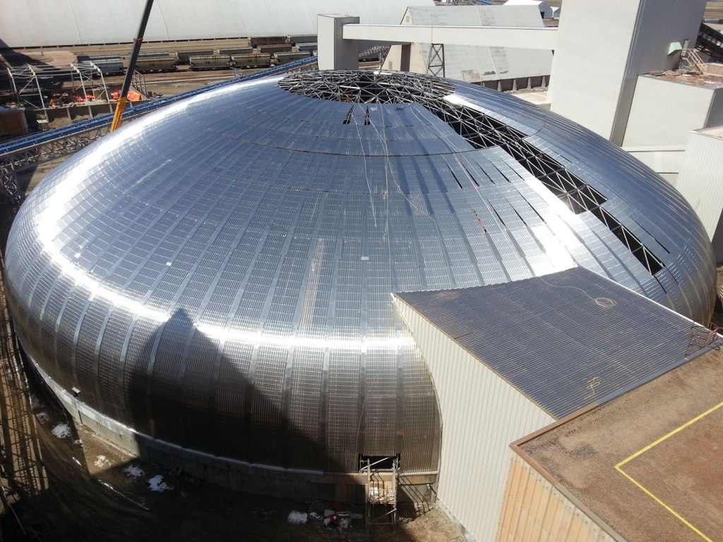 Colonsay Potash Thickener Dome - click for project details