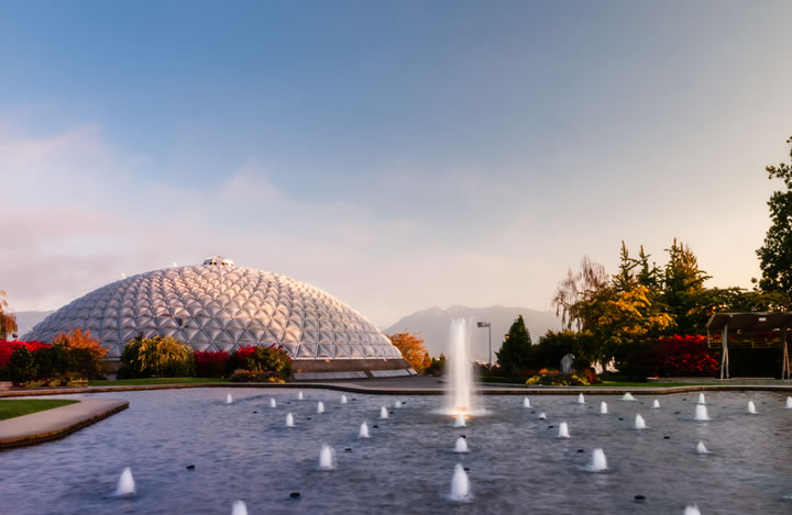 Click to see details of the MacMillan Bloedel Conservatory